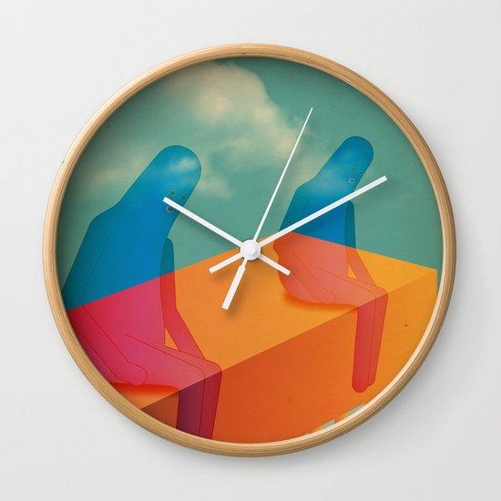 l a s s ù Wall Clock