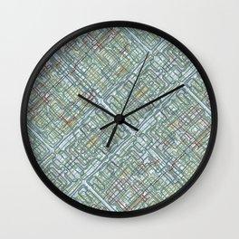 Pipe nightmares Wall Clock
