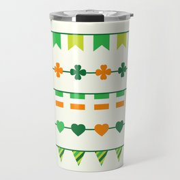 Irish, Ireland, shamrock, saint patricks day, irish gifts women, irish gift, luck of the irish, Travel Mug