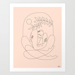 About kaleidoscopes Art Print