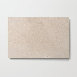 Antique Marble texture Metal Print