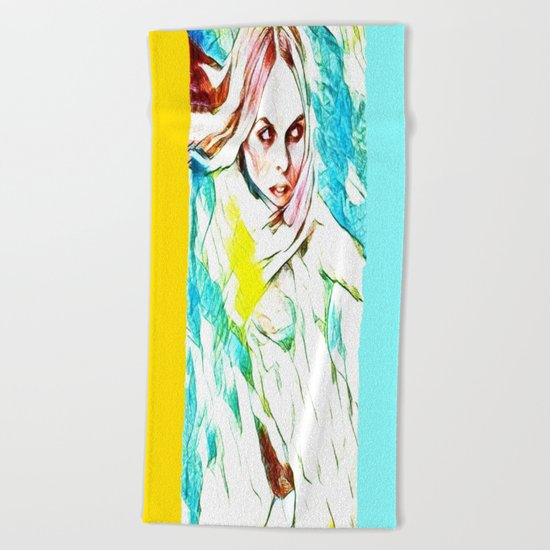 Pseudia Beach Towel