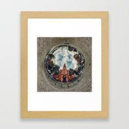 'Apostelkirche 360º Panorama' Framed Art Print