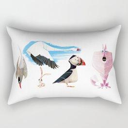 Arctic animals 2 Rectangular Pillow