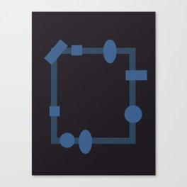 formes. Canvas Print