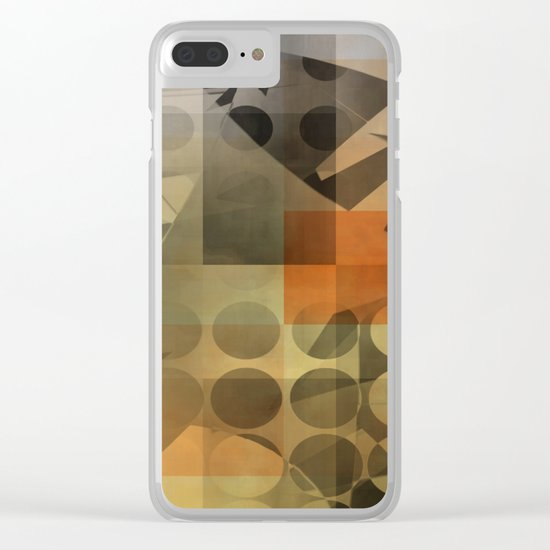 lack of focus Clear iPhone Case
