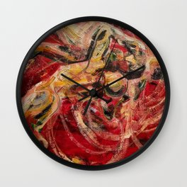 Fight or Flight Wall Clock