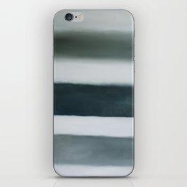 grey strata iPhone Skin
