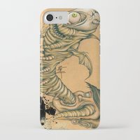 inner demons iPhone & iPod Cases featuring Inner Demons by Nash Gottfried