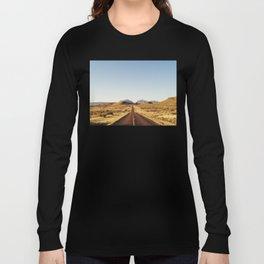 Golden Rolling Hills Road Long Sleeve T-shirt