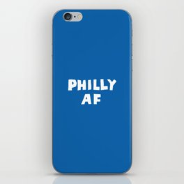 Philly AF (Blue) iPhone Skin