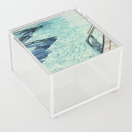 Summertime swimming Acrylic Box
