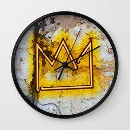 "Crown ""B"" – NEON Wall Clock"