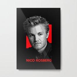 Formula One - Nico Rosberg Metal Print