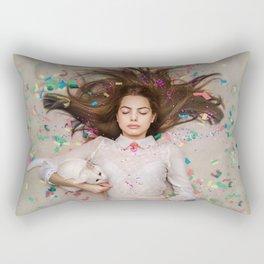 unexpected happiness. Alice Rectangular Pillow