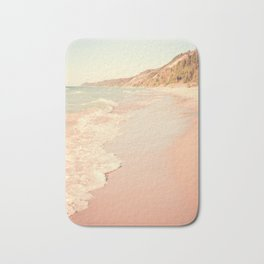 Her Mind Wandered Back and Forth With the Waves Bath Mat