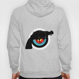 Hand Gun Target Hoody