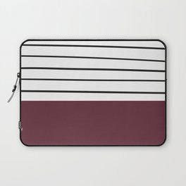 MARINERAS MAROON Laptop Sleeve