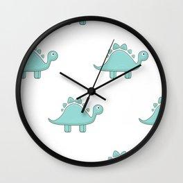 Cartoon dinosaurs Wall Clock