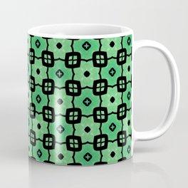 Tiled green Coffee Mug