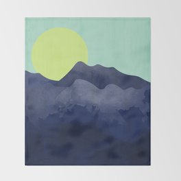 Sunset Mountain Throw Blanket
