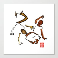 Capoeira 920 Canvas Print