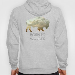 Bison and Plains Hoody