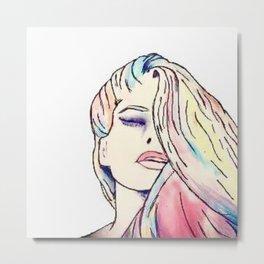 See Me In Colors Metal Print