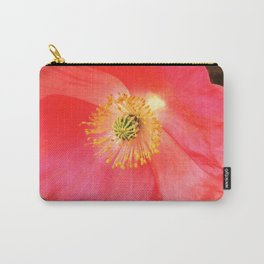 California Pink Poppy Carry-All Pouch