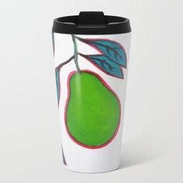 pears Metal Travel Mug