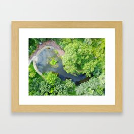 Water Overlook Framed Art Print