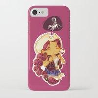 scorpio iPhone & iPod Cases featuring Scorpio by SinisterSquids