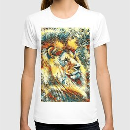 AnimalArt_Lion_20171001_by_JAMColorsSpecial T-shirt