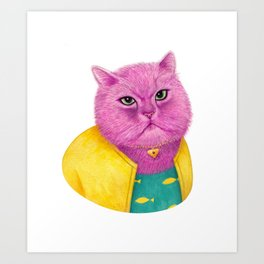 Princess Carolyn Art Print