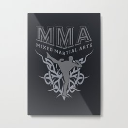 Mixed Martial Arts Metal Print