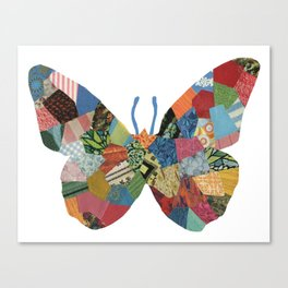 The Butterfly. Canvas Print