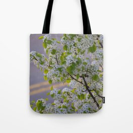 Blossoms on Third Avenue Tote Bag