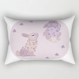 Magic rabbits Rectangular Pillow
