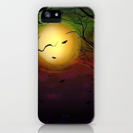 Nightmare into the woods iPhone Case
