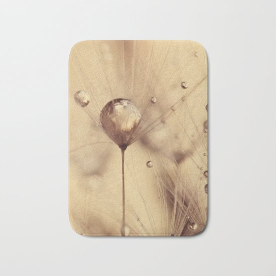 dandelion gold Bath Mat