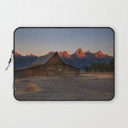 Moulton Barn - Sunrise in Grand Tetons Laptop Sleeve