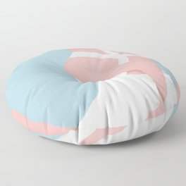Soft Morning I Floor Pillow