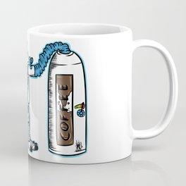Coffee fueled astronaut Coffee Mug