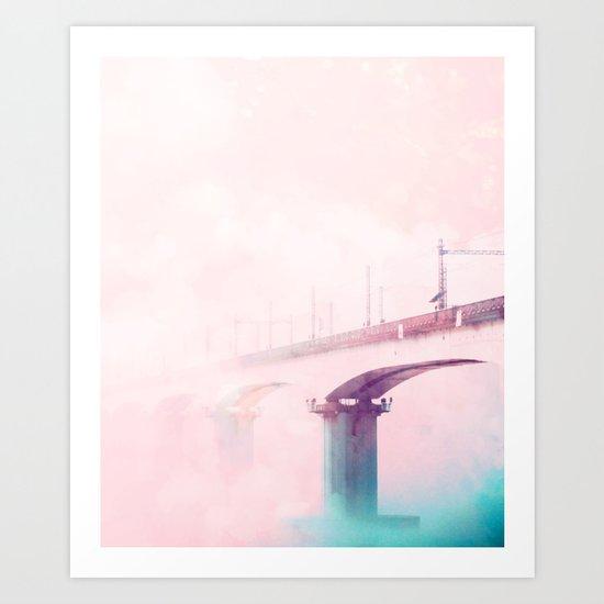 The Bridge to Heaven #society #decor #buyart Art Print