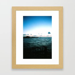 Ocean Overlook Framed Art Print