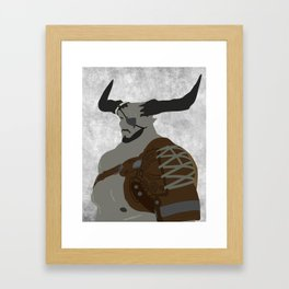 The Iron Bull Framed Art Print