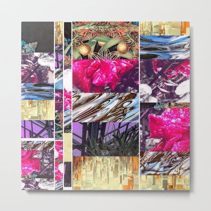 Pink Pain Metal Print