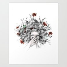 It Overflows Art Print