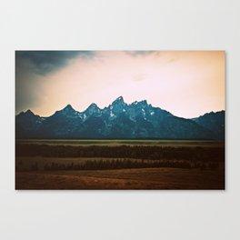 Tetons Canvas Print