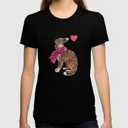 Watercolour Borzoi T-shirt